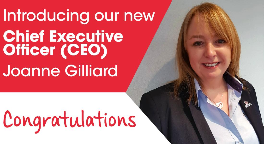 CEO Joanne Gilliard