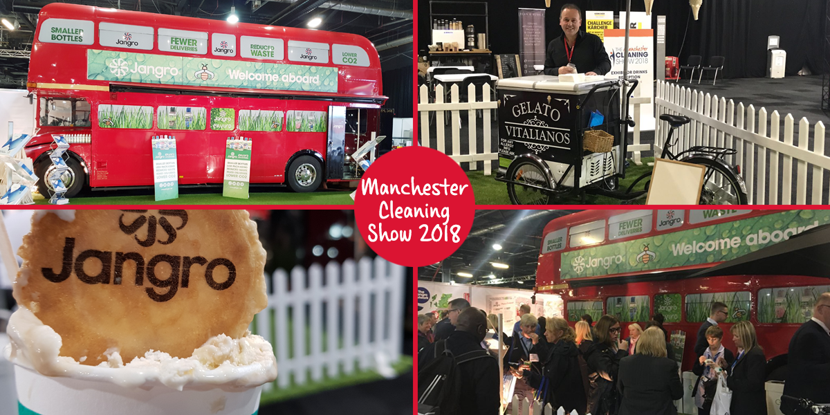 Jangro Manchester Cleaning Show 2018
