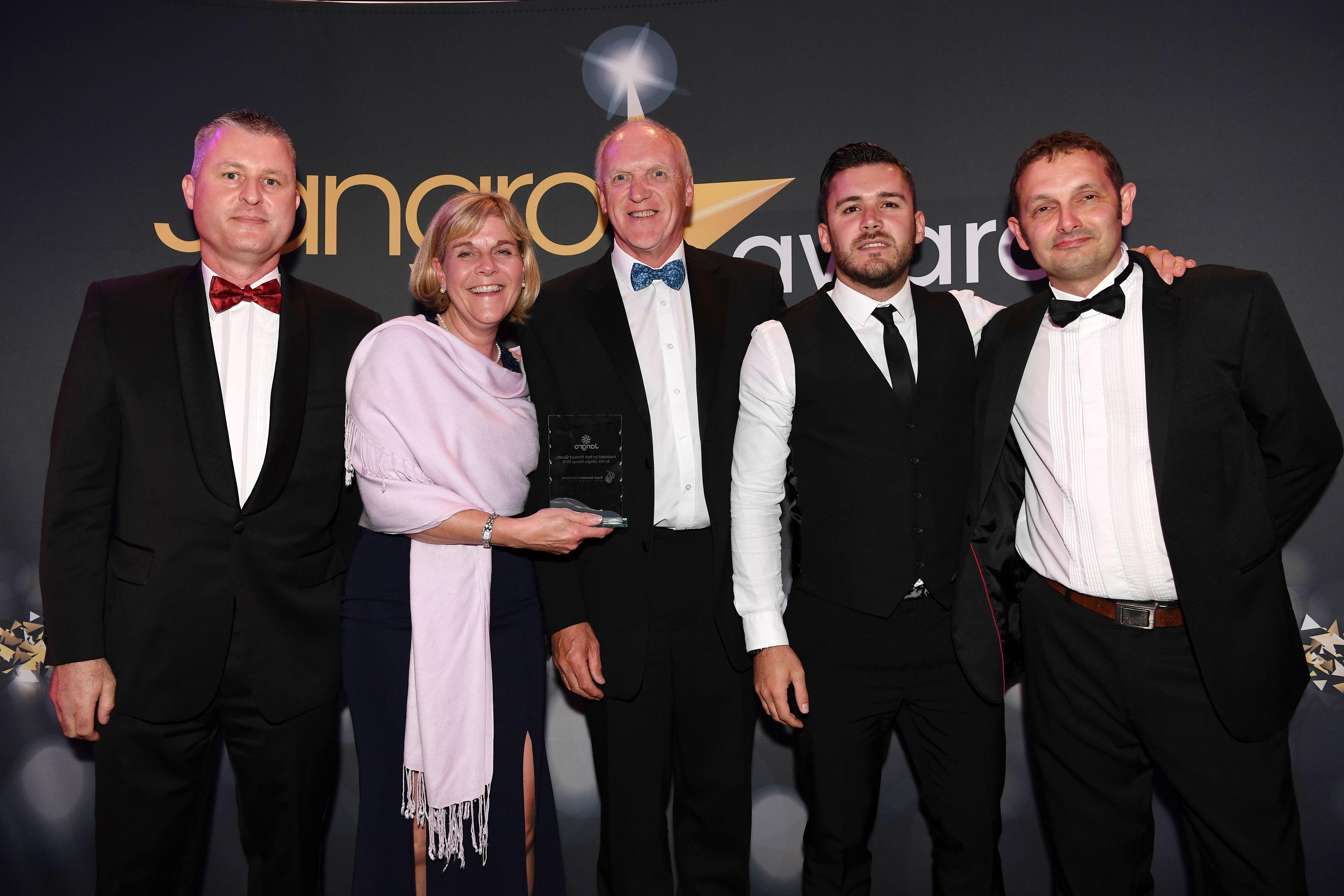 Jangro Supplier Awards