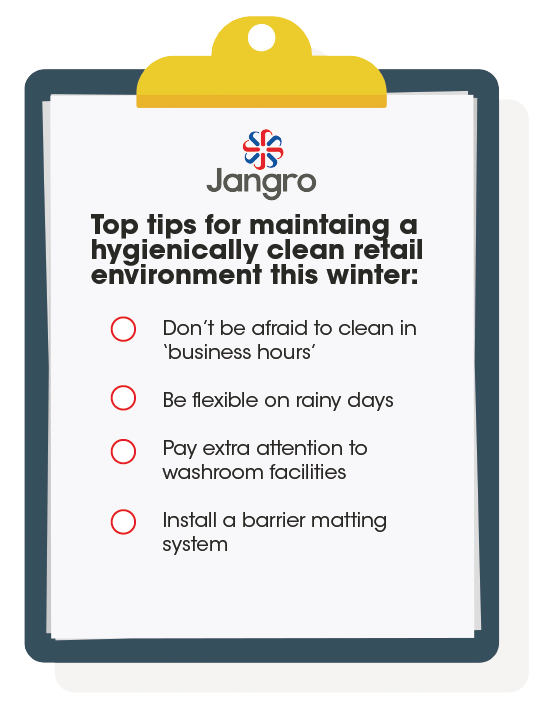 top tips for maintaining a clean and hygienic retail environment