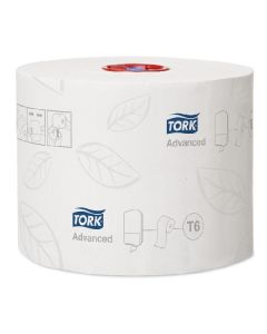Tork Mid-size Toilet Roll 2 Ply 100m