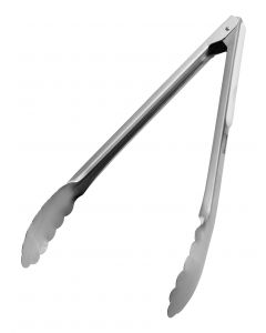 Colour Coded Heavy Duty Utility Tongs 12 Inch 30.4cm White