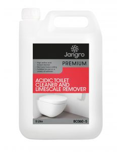 Premium Acidic Toilet Cleaner and Limescale Remover 5 litre
