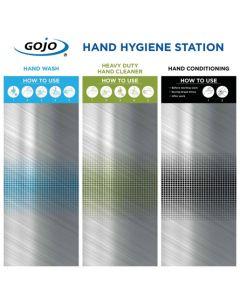 Hand Hygiene Station - 3 Step - Board Only