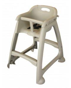 High Chair Grey Plastic