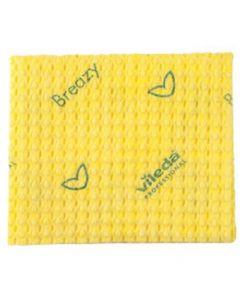 Vileda Breazy Cloths - Yellow
