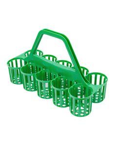 Glass Carrier - Green