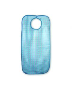 Heavy Duty Clothing Protector/Apron, snap closure, 45x90cms, Gingham