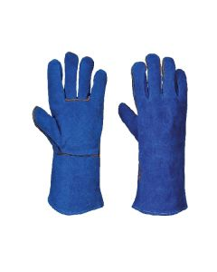 Welders Glove, Blue Size 10.5/XL
