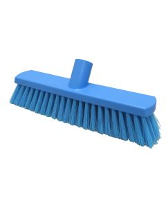 280mm Soft Crimped Fill Sweeping Broom - Blue