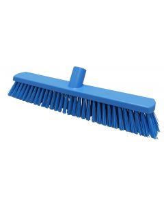 380mm Stiff Fill Sweeping Broom - Blue