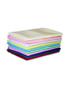FR Polyester Pillowcases, Pair, 48cm x 73cm - Peach