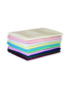 Polyester Cotton Pillowcases, Pair, 48cm x 73cm - Claret