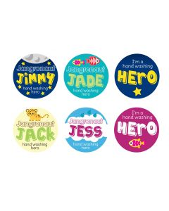 Jangronauts Round Pupil stickers (one of each design)