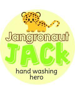 JACK - Jangronauts Round Pupil stickers