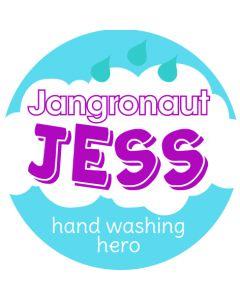 JESS- Jangronauts Round Pupil stickers