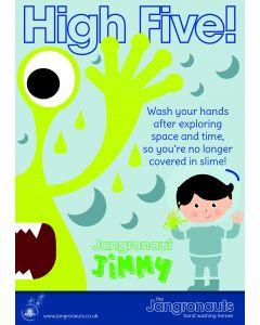 Jangronaut Poster A3 - High Five