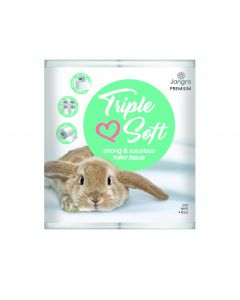 Premium Triple Soft Toilet Tissue 160 Sheet, 4 Pack, 3 ply