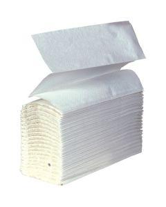 Z-Fold Hand Towel, White 1 ply