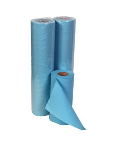 """10"""" Hygiene Roll 40M, Blue 2 ply"""