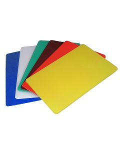 Colour coded chopping board, White