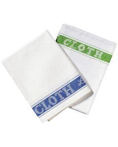Linen Union Glass Cloth, Blue