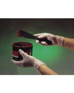 Vinyl Disposable Gloves, Pre-Powdered, Clear, Medium