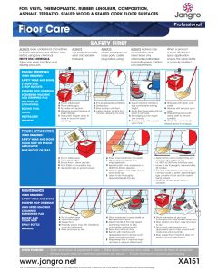 Floor Care Wall Chart (A3)