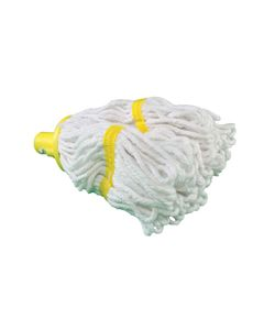 PY12 Plastic Socket Mop Head 200 grm Yellow