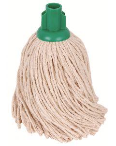 PY14 Plastic Socket Mop Head 240 grm Green