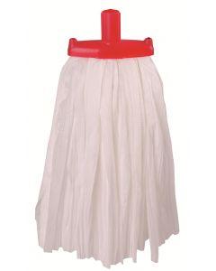 Prairie Big White Mop Red