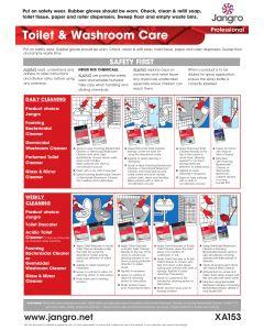 Toilet and Washroom Wall Chart (A3)